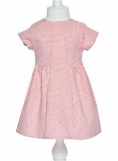 çikoby Çikoby Kız Bebek Kısa Kollu Astarlı Elbise 6-36 Ay C19W-CK1576